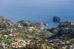 Porto DA Cruz auf der Nordküste von Madeira Lizenzfreie Stockfotografie