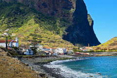 Porto da Cruz in the sprigtime, Madeira Royalty Free Stock Photo