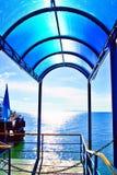 Porto da ilha de Samui Fotografia de Stock