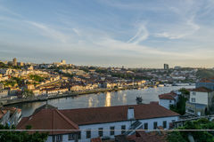 Porto dans le coucher du soleil Photos libres de droits