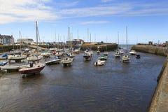 Porto de Aberaeron Fotografia de Stock
