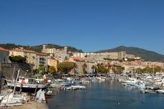 Porto de Ajácio em Córsega, França fotos de stock