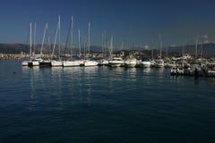 Porto de Ajácio Plaisance Fotos de Stock Royalty Free