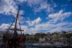 Porto de Antalya Foto de Stock