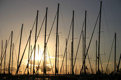 Porto de Atenas em Alimos. Imagens de Stock Royalty Free