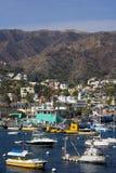 Porto de Avalon fotografia de stock royalty free