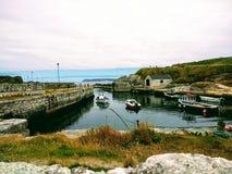 Porto de Balintoy, jogo dos tronos Fotos de Stock Royalty Free