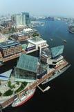 Porto de Baltimore foto de stock