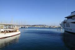 Porto de Bandol em França Fotos de Stock Royalty Free