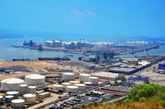 Porto de Barcelona, Espanha Imagens de Stock Royalty Free