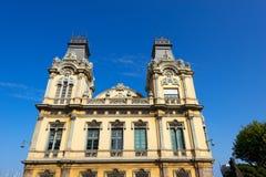Porto de Barcelona - Espanha Imagens de Stock Royalty Free