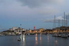 Porto de Bari Imagem de Stock Royalty Free