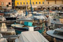 Porto de Bastia Vieux Imagem de Stock Royalty Free
