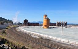 Porto de Bellingham, Washington Fotos de Stock