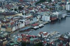Porto de Bergen Imagens de Stock