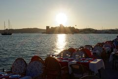 Porto de Bodrum Imagens de Stock Royalty Free