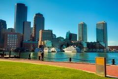 Porto de Boston Fotos de Stock Royalty Free