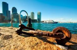 Porto de Boston Fotografia de Stock Royalty Free