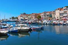 Porto de Cannes, dAzur da costa, França Foto de Stock