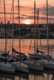 Porto de Catania, 2017 fotografia de stock