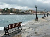 Porto de Chania Fotografia de Stock Royalty Free