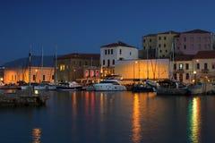 Porto de Chania Imagem de Stock