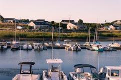 Porto de Chatham foto de stock royalty free
