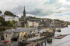 Porto de Cobh, Irlanda Fotos de Stock Royalty Free