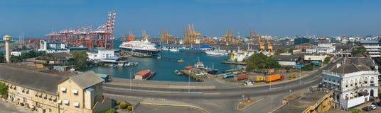 Porto de Colombo em Sri Lanka Imagens de Stock Royalty Free