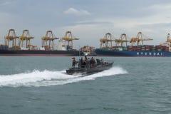 Porto de Colombo - Colombo, Sri Lanka fotografia de stock