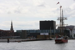 Porto de Copenhaga Fotos de Stock Royalty Free