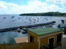 Porto de Corricella Fotografia de Stock Royalty Free