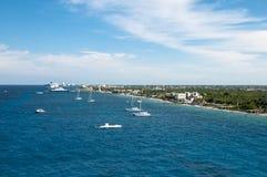 Porto de Cozumel México de chamada Imagens de Stock Royalty Free