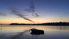 Porto de croatia da arte do barco Imagens de Stock Royalty Free