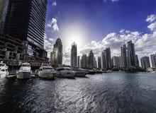 Porto de Dubai por Emaar fotos de stock royalty free