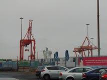 Porto de Dublin foto de stock royalty free