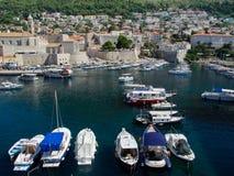 Porto de Dubrovnik imagem de stock royalty free