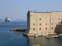 Porto de Dubrovnik Imagens de Stock Royalty Free