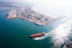 Porto de Durban fotografia de stock