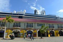 Porto de Falmouth, Jamaica Imagens de Stock