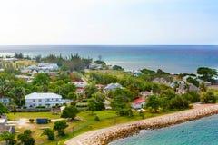 Porto de Falmouth na ilha de Jamaica, o Caribbeans Imagem de Stock
