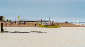 Porto de Felixstowe, Suffolk, Inglaterra, Reino Unido Foto de Stock Royalty Free