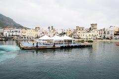 Porto de Forio Imagens de Stock Royalty Free