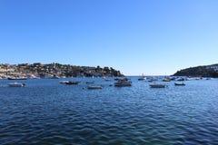 Porto de Fowey, Cornualha foto de stock royalty free