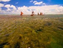Porto de Galinhas Beach Stock Image