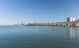 Porto de Gandia, Espanha Foto de Stock Royalty Free
