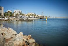 Porto de Gandia, Espanha Fotografia de Stock