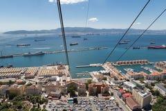 Porto de Gibralter fotos de stock royalty free