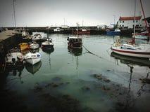 Porto de Gourdon Fotografia de Stock Royalty Free