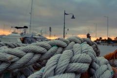 Porto de Grécia fotografia de stock royalty free